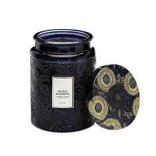 <b>MOSO BAMBOO</b> Большая <b>свеча</b> в стекле, Voluspa - Candlesbox