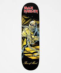 "Zero x <b>Iron Maiden Piece</b> Of Mind 8.37"" Skateboard Deck | Zumiez"