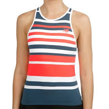 New Balance <b>Tournament Seamless Tank</b> Top Women - Dark Blue ...