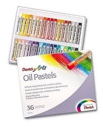 Купить <b>Pentel Пастель масляная Arts</b> 36 цветов (PHN4-36) по ...