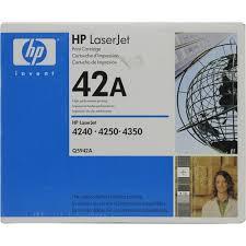 Оригинальный <b>картридж HP</b> Q5942A (№42A) Черный (Black ...