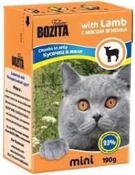 <b>Bozita mini</b> jelly <b>pieces</b> for cats-lamb 0,19 kg x 12 PCs M0tKvxh2