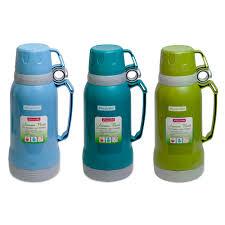 <b>Термос</b> 1000мл <b>пластиковый со стеклянной</b> колбой (2 чашки ...