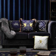 <b>Luxury Thicken</b> Velvet Cushion Cover Embroidery Pillow Cover ...