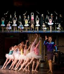 we go behind the scenes of billy elliot to watch the cast of kids we go behind the scenes of billy elliot to watch the cast of kids warm up and interview three lovely ballerina girls shedoesthecity