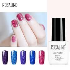 ROSALIND Gel 1S <b>Gel Nail Polish 7ML</b> Soak off UV Gel Lacquer ...