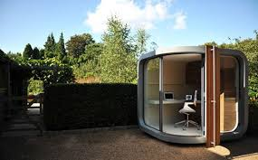 officepod a prefab cubicle for your backyard office pod inhabitat green design innovation architecture green building backyard office prefab