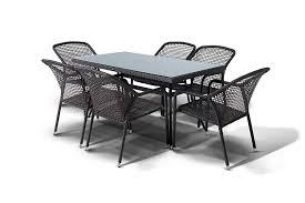 Садовая <b>плетеная</b> мебель из ротанга: <b>обеденная группа</b> ...