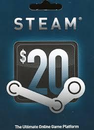 20$ Steam Code