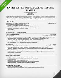 office worker resume sample   resume geniusoffice clerk resume entry level
