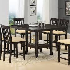 bar height dining table gathering
