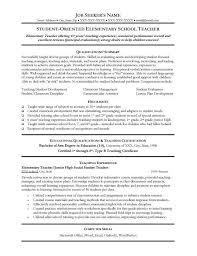 sample teachers resume special education teacher resume sample special education teacher sample resume