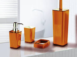 deals orange bathroom accessories: burnt orange bathroom accessories orange bathroom and ensuite bathroom and best solution to built appealing and cheap bathroom on your home  x