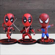 <b>HOT</b> TOYS COSBABY Spiderman Deadpool Lady Deadpool <b>PVC</b> ...