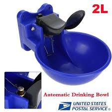 2L <b>Automatic Drinking Water</b> Outlet Bowl Trough Cattle Goat <b>Sheep</b> ...