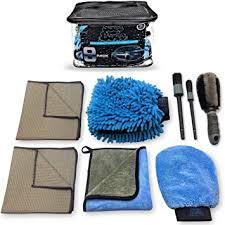 Sudz Budz Premium Microfiber Car Wash Kit 8pcs ... - Amazon.com