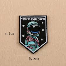 <b>Space Explorer</b> Embroidery Sew <b>Iron</b> Patch Badge Fabric Clothes ...