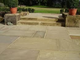 patio slab sets:  raj green paving