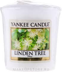 Yankee Candle Scented Votive <b>Linden Tree</b> - <b>Ароматическая свеча</b> ...