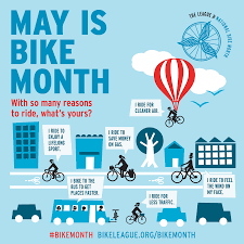 promotional materials league of american bicyclists national bike month posters
