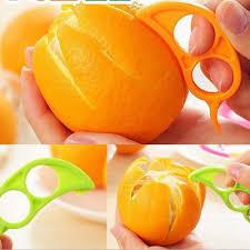 <b>2pcs Orange Peelers</b> Opener Practical Lemon Fruit Slicer Fruit ...