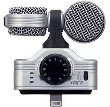 Zoom IQ7, Black iOS-совместимый микрофон — купить в ...
