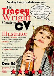 15 creative cvs that stand out from the crowd paperblog tracey wright