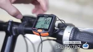 """7"""" LCD Electronic <b>Bicycle Speedometer</b> -- DX.COM - YouTube"""