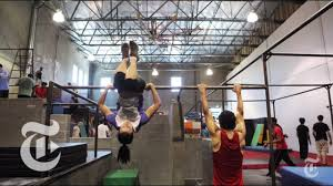 Parkour <b>Training Heads</b> Indoors in NYC - 2013 Video | The New ...