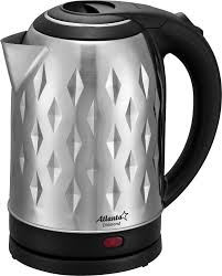 Купить электрический <b>чайник Atlanta ATH</b>-2430, Металл/пластик ...