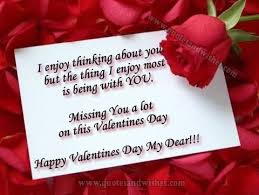 Long Distance Valentines Day Quotes. QuotesGram via Relatably.com