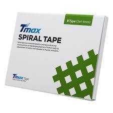 <b>Кросс</b>-<b>тейп Tmax Spiral Tape</b> Type B 423723 (20 листов), телесный