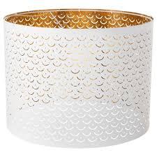 Купить НИМО <b>Абажур</b>, белый, желтая медь, 44 см по выгодной ...