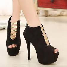نتيجة بحث الصور عن احذية كعب عالي للسهرات