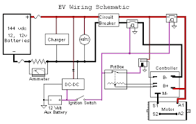 ev library v is for voltage electric vehicle forum ev wiring schematic