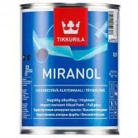 <b>Эмаль алкидная</b> Tikkurila <b>Miranol</b> высокоглянцевая база C 0,9 л ...