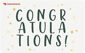 Amazon.com: DoorDash Congrats Gift Card - E-mail Delivery: Gift ...