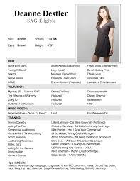 preparing your acting r sum movie casting calls auditions audition resume format