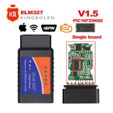 ELM327 V1.5 Bluetooth/Wifi <b>OBD2</b> V1.5 <b>Elm</b> 327 Bluetooth ...