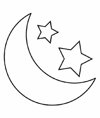 Small Picture Moon Coloring Page The Moon Coloring Pages The Free Printable