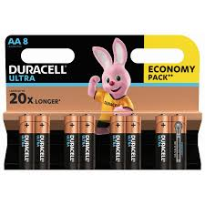 <b>Батарейки</b> щелочные <b>Duracell</b> Ultra Power <b>AA</b> 8 шт купить по ...