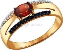 Золотые <b>кольца</b> с большими камнями в Ярославле 🥇