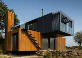 Shipping Container House Plan Book Series   Book   Shipping    This stunning cantilevered Container House was constructed in a very beautiful rural part of Northern Ireland by Patrick Bradley using x Type A ′ HC