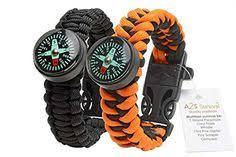 1 Best Paracord Bracelet <b>2PCS Pack</b> 5In1 <b>Outdoor</b> Paracord ...