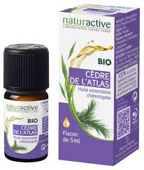 Naturactive <b>Organic Essential Oil Atlas</b> Cedar 5ml