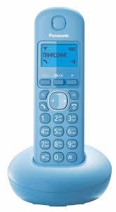 Купить <b>Радиотелефон Panasonic KX</b>-<b>TGB210</b> Голубой дешево ...