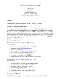 bank teller cover letter sample SlideShare