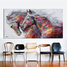<b>HDARTISAN</b> Animal <b>Wall Art</b> Pictures For Living Room Home Decor ...