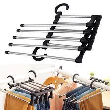 <b>MultiFunctional</b> Clothes Hangers Pants Storage Hangers <b>Cloth</b> Rack ...