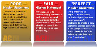 personal mission statements for students examples